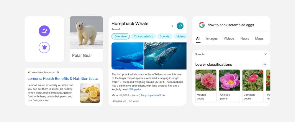 prezentacja nowego wyglądu wyszukiwarka Google