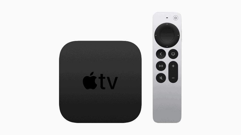 Apple TV 4K HDR Spring Loaded